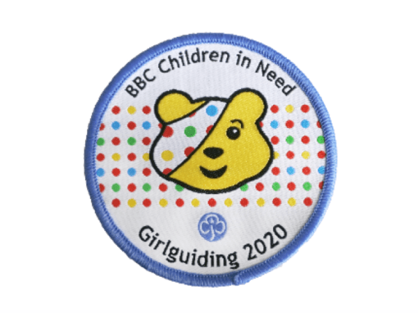 Girlguiding & BBC Children in Need partner to celebrate Pudsey's 40th year