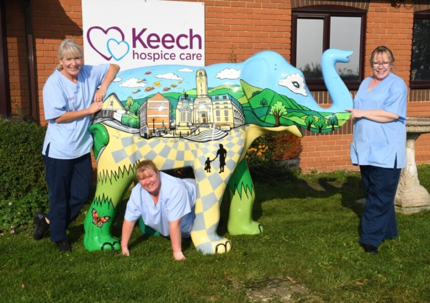 The Big Trunk Trail is coming to Luton in the summer of 2021 as Keech Hospice Care celebrates its 30th anniversary