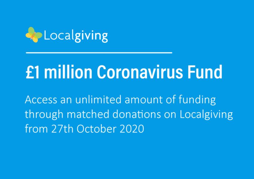 One million pound coronavirus fund details