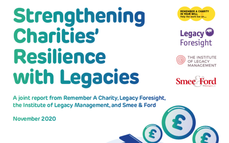Strengthening Charities' Resilience with Legacies
