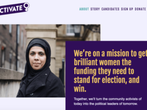 Activate political fund for women's representation announces first candidates