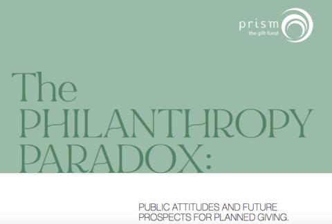 Philanthropy Paradox