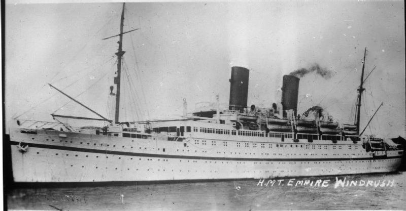 Empire Windrush Ship