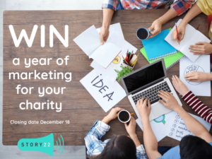 Free 12-month marketing package offer for 2 London or SE-based charities