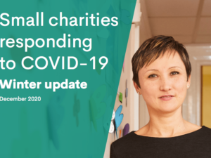 Small charities stepping up to Covid challenges despite funding issues need more support, report urges