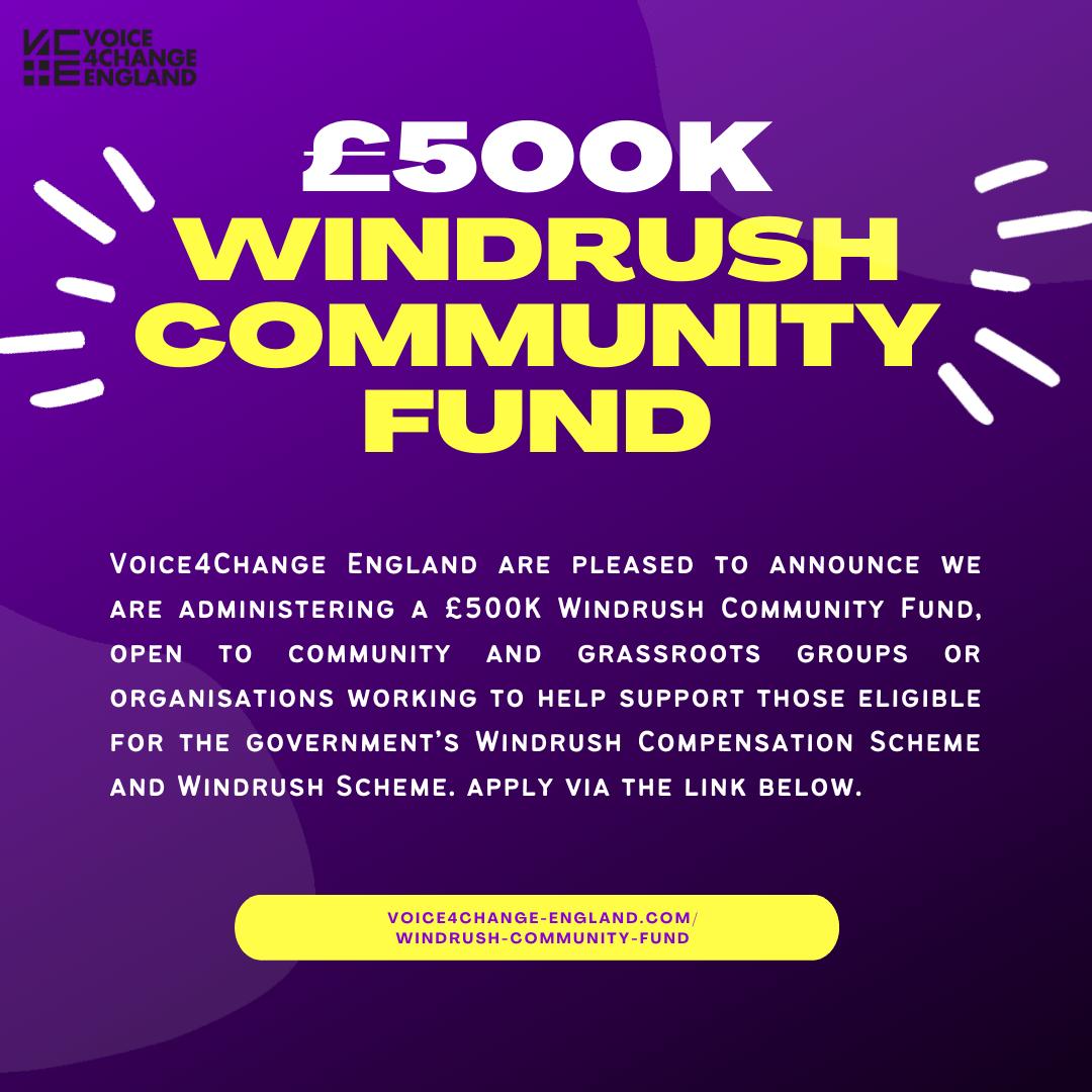 The £500k Windrush Community Fund