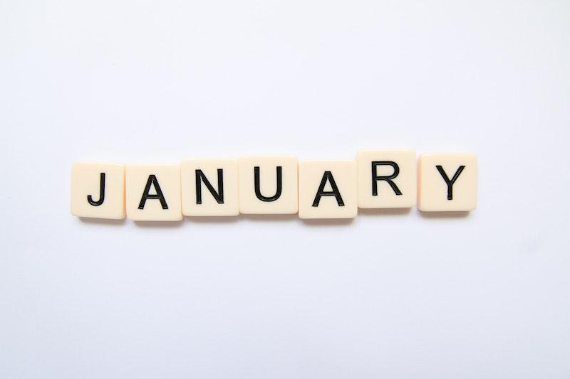 January tiles.