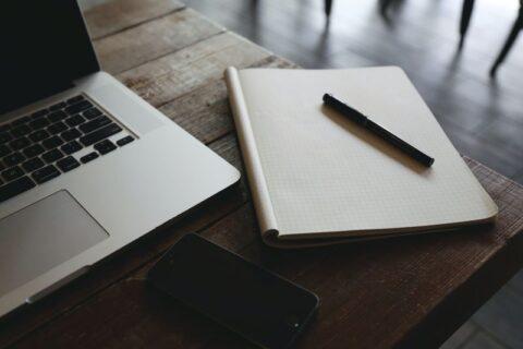 computer & notebook