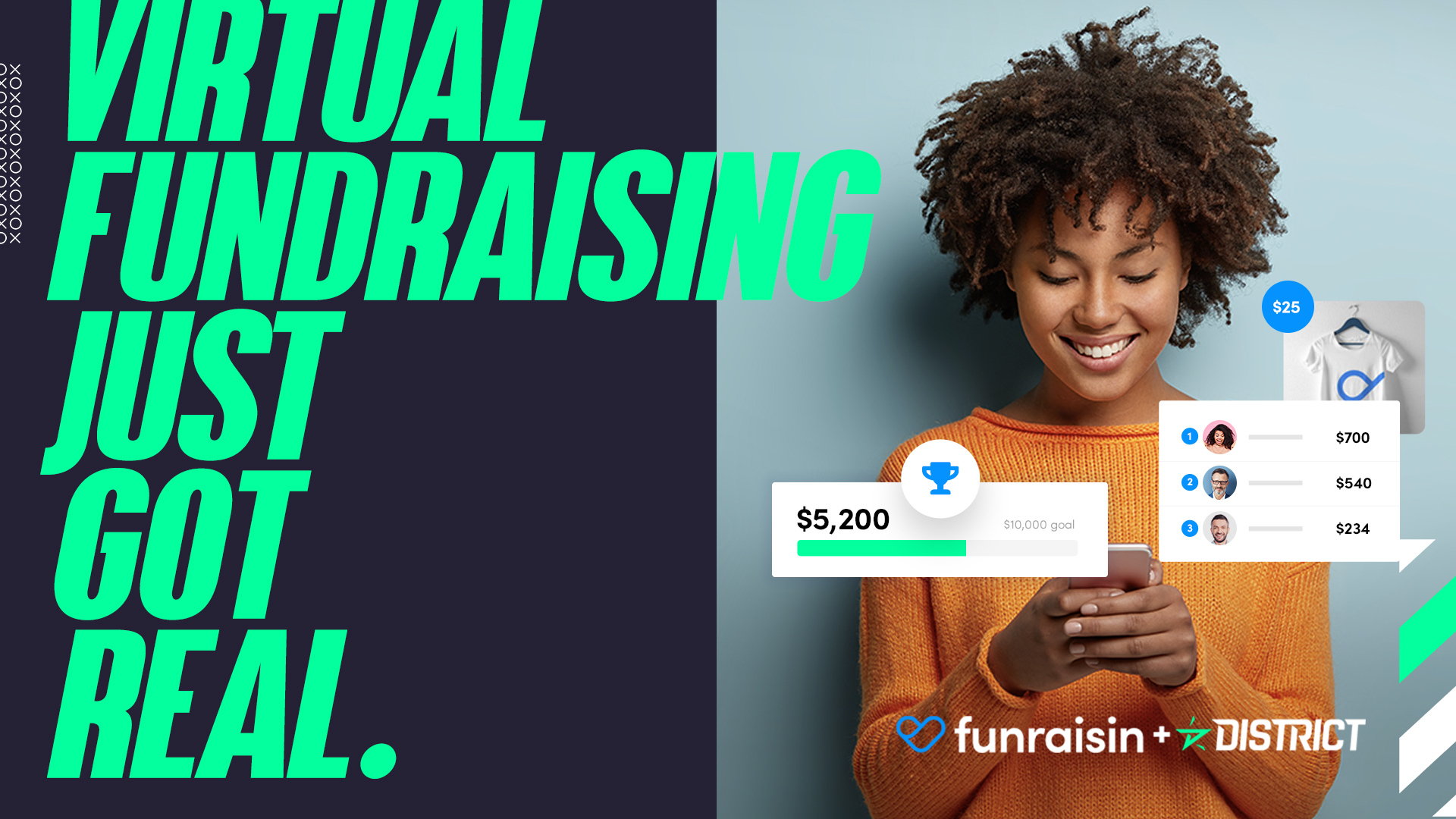 Virtual fundraising just got real