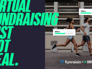 Funraisin introduces hybrid digital and real world fitness fundraising tools