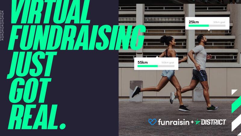 Virtual fundraising just got real