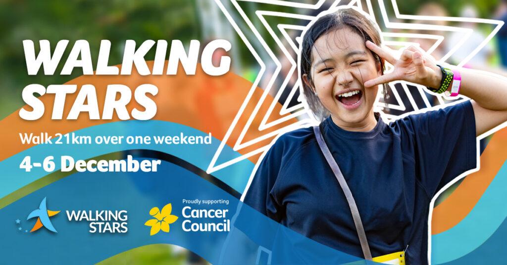 Walking Stars - Australian fundraising event