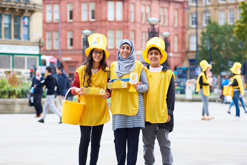 Great Daffodil Appeal collectors