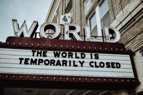 The world is temporarily closed - photo: Unsplash