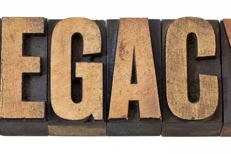 Legacy letters - image: Marekuliasz on Shutterstock.com