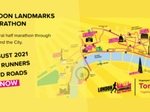 Tommy's moves London Landmarks Half Marathon to August