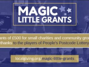 2,000 grants available in 2021 from Localgiving's Magic Little Grant Fund