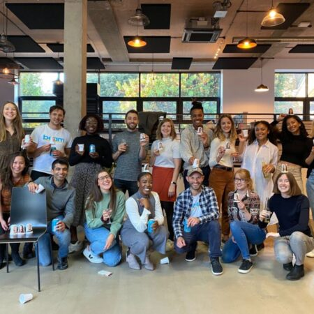 Team of people at social enterprise Beam