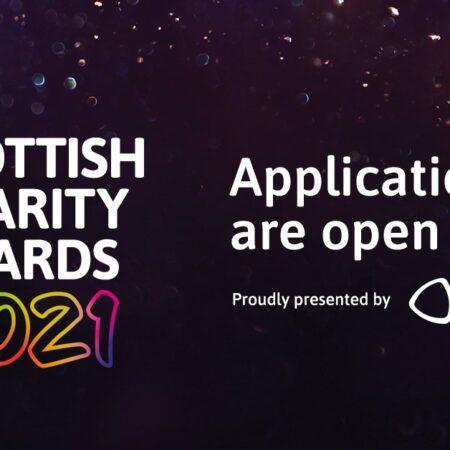 Scottish Charity Awards 2021 logo