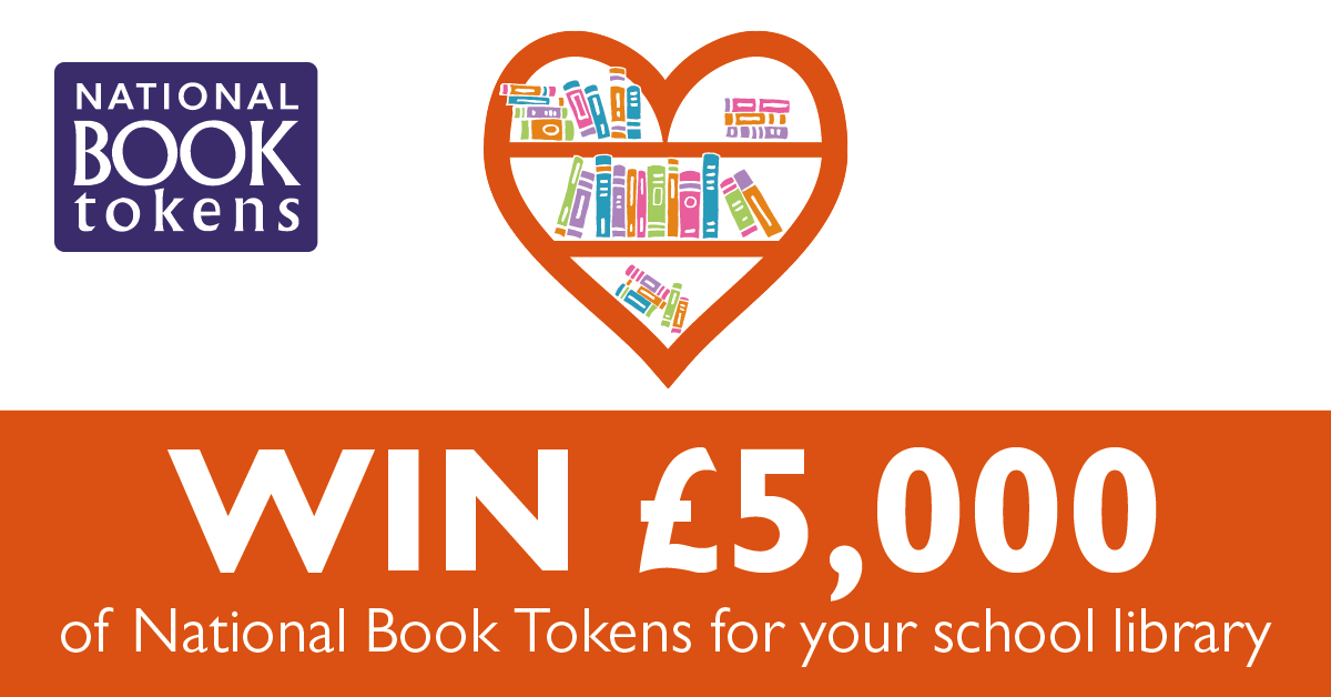 Win £5,000 of book tokens for a school library