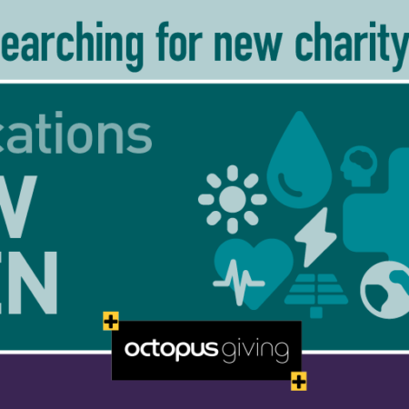 Octopus Giving - applications now open