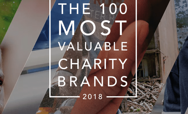 The 10 Most Valuable Charity Brands 2018