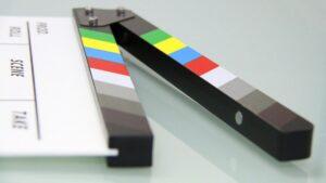 Clapper board. Photo: Pixabay.com