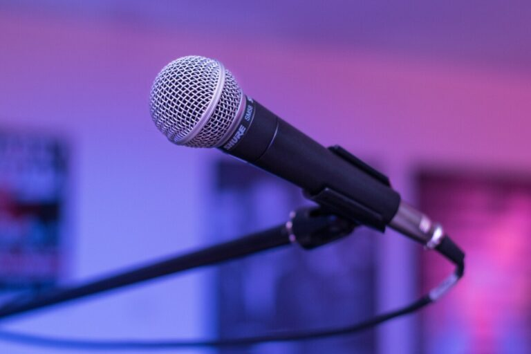 Microphone. Photo: Pixabay.com
