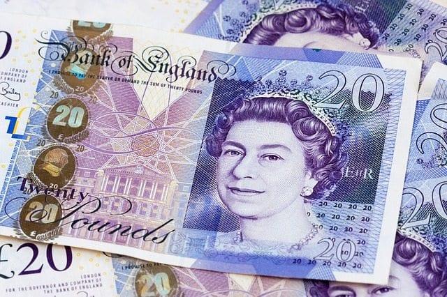 Twenty pound notes. Photo: Pixabay.com
