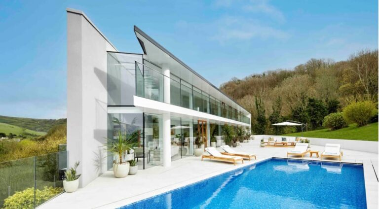 Devon house with pool offered as a raffle prize for Childline