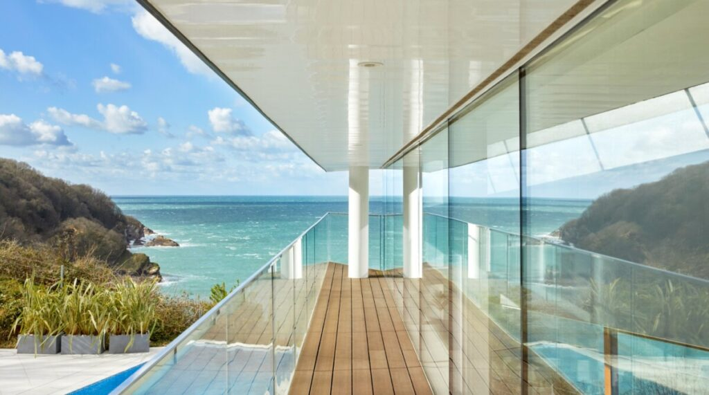 Devon house with sea views offered as a raffle prize for Childline