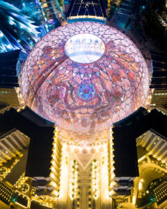 Al Wasl Plaza, Dubai. Image: BIE-Cosmos Prize