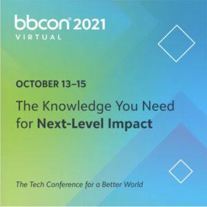 Blackbaud's bbcon 2021 virtual event details