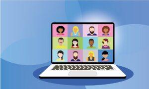 Video conference graphic. Photo: Pixabay.com