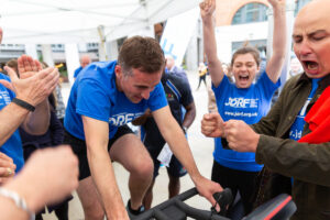 Static cycle challenge for JDRF