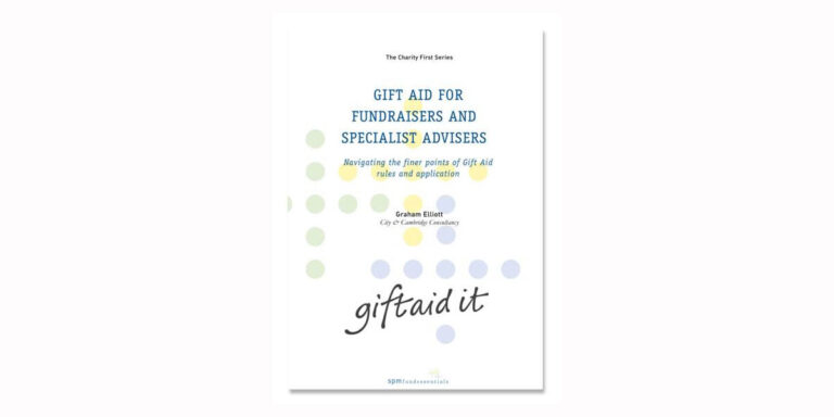 Gift Aid for Fundraisers - cover